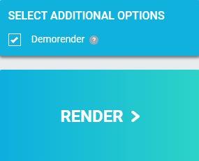 Easy start of render | Render farm | AnimaRender