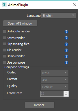 One click render 3Ds Max   Render farm   AnimaRender